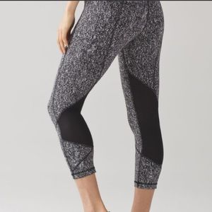 Lululemon Pace Rival Suited Jacquard Crop